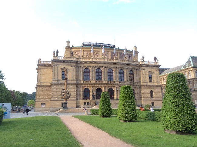 A photo of the Rudolfinum Concert Hall - Prague, Czechia