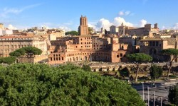 A photo of Roman Ruins - Rome, Italy