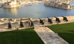 A photo of the fortifications around Malta - Valletta, Malta