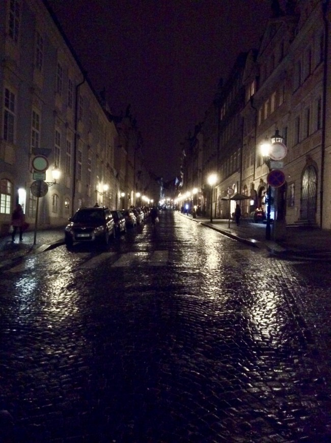 A photo of Nerudova street from Malostranské Náměstí - Prague, Czechia