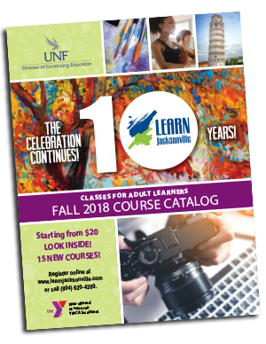 UNF  Continuing Education  LEARN Jacksonville