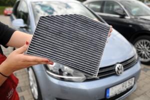 Sorgt nicht nur für saubere Luft im Auto: der Innenraumfilter. Foto: TÜV Süd.