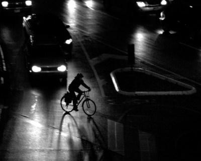 Fahrrad fahren bei Nacht. Foto: ACV Automobil-Club Verkehr.
