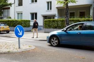 Zebrastreifen: Absoluter Vorrang für Fußgänger. Foto: TÜV Rheinland.