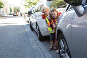 Kinder im Straßenverkehr. Foto: ADAC.