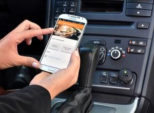 Die App zum Unfallmeldedienst. Foto: GDV.