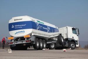 Fahrsicherheitstraing für Lkw. Foto: TÜV Rheinland AG.