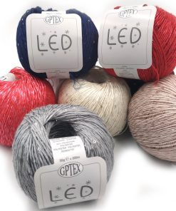 LED - Cotone e Paillettes