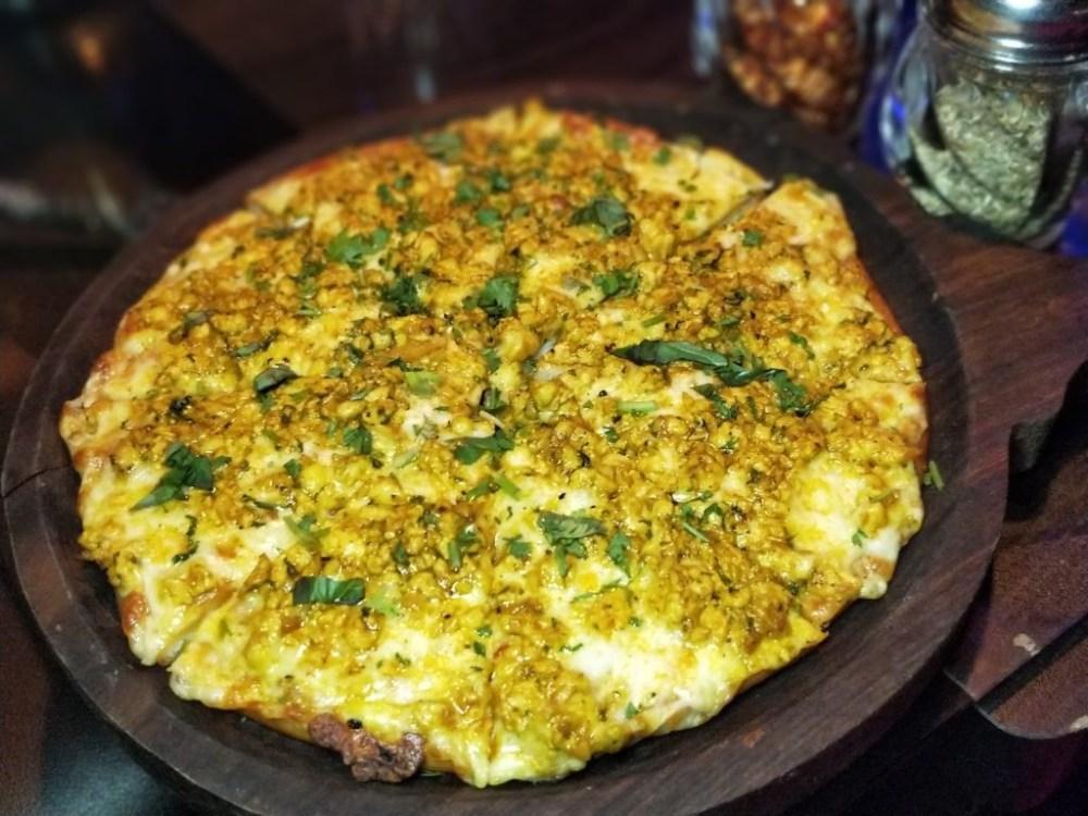 Chicken Kheema Pizza