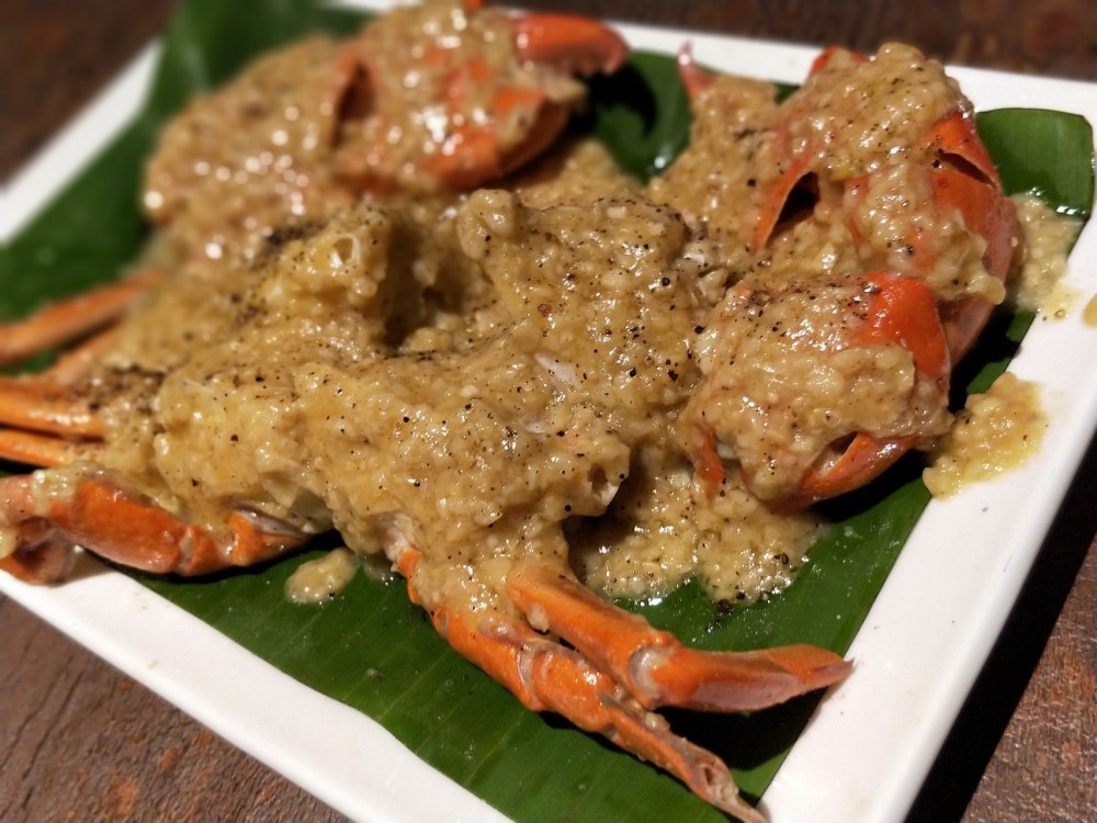 Butter Garlic Crab