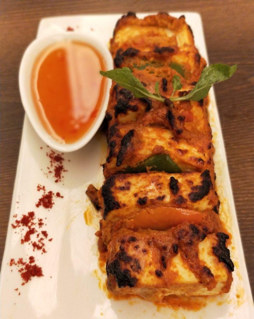 Tangra Paneer Tikka at Tantra Vegetarian Restaurant in Girgaum