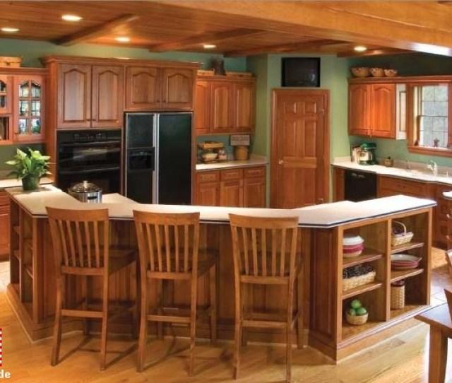 Custom Cabinets In Oak
