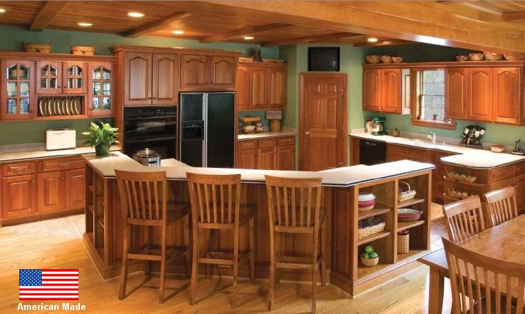 cheap unfinished kitchen cabinets cherry wood solid for homeowners and contractors custom in oak