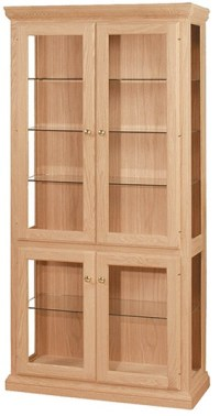 """UNFINISHED TRADITIONAL CURIO CABINET - 38"""": Unfinished ..."""