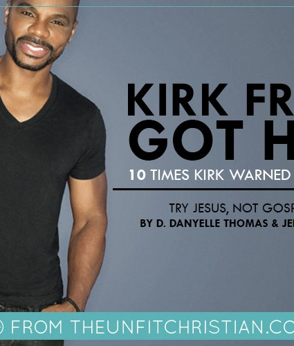 10 Times Kirk Franklin Told Us He Got Hands