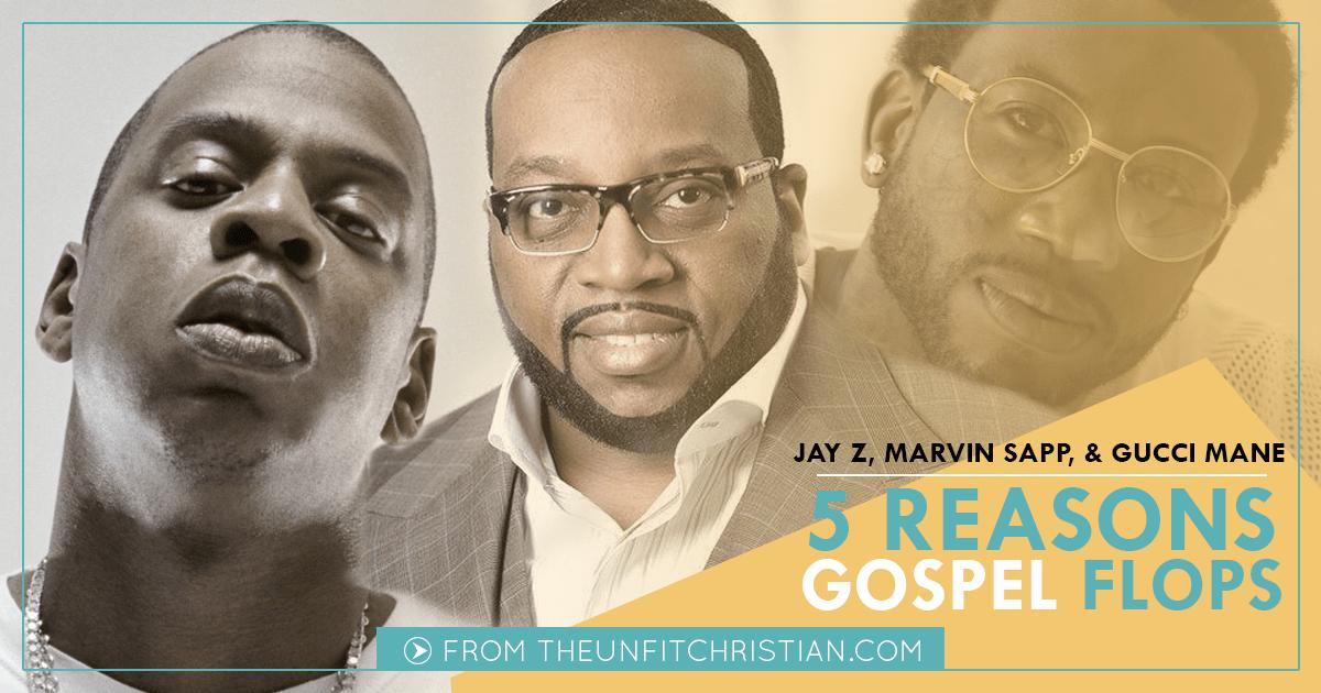 On Marvin Sapp, Jay Z, & 5 Reasons Gospel Music Flops