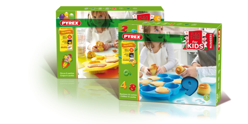 Packaging Flexi Twist for Kids, Pyrex