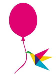 Bird and ballon - helping your website to fly