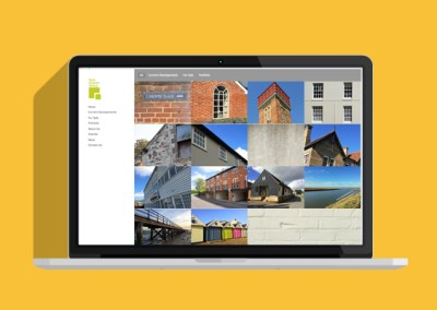 East Anglian Group Website - Laptop