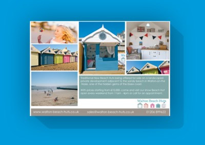 Walton Beach Huts advert in Coast Magazine
