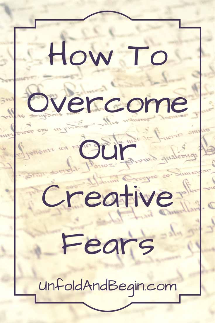 Being creative is hard. The key is learning how to overcome our creative fears so that we can continue to create. UnfoldAbdBegin.com