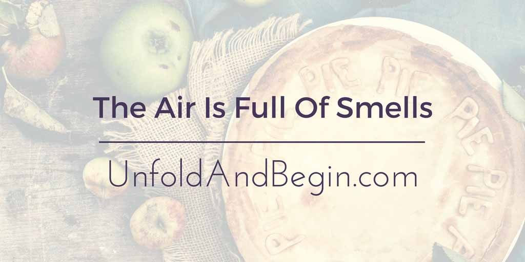 The Air Is Full Of Smells Wednesday Whoa