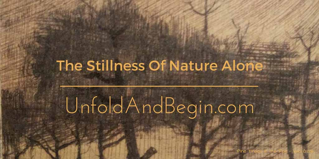 The Stillness Of Nature Alone Creativity Prompt