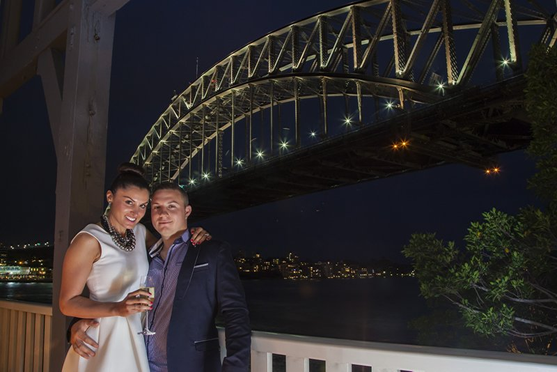 proposal under harbour bridge