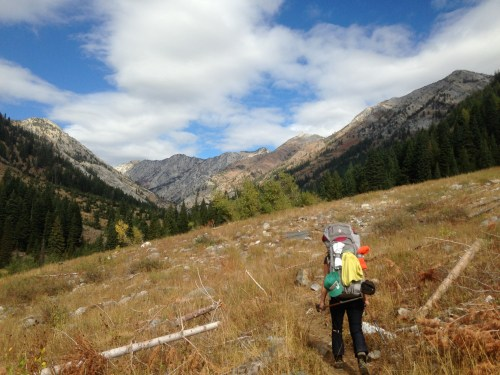 backpacking in the Wallowas