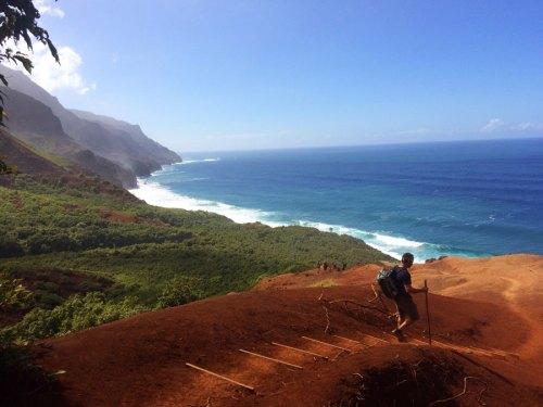 napali coast, hawaii