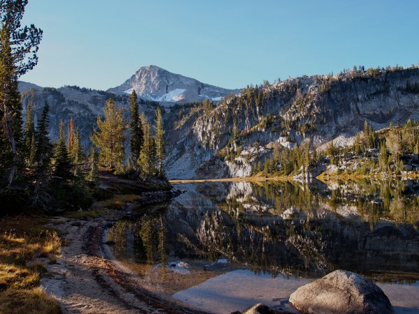 Mirror Lake and Eagle Cap