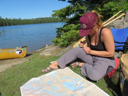 boundary waters route planning