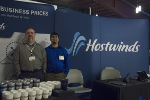 Sponsor and exhibitor Hostwinds