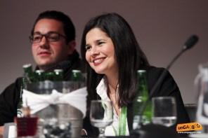Speaker Bastian Grimm and Aleyda Solis