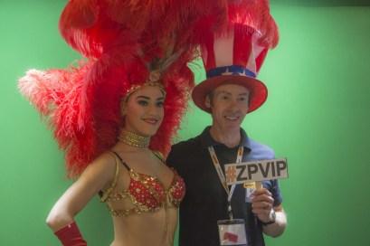 Zero Parallel's showgirl and Graham