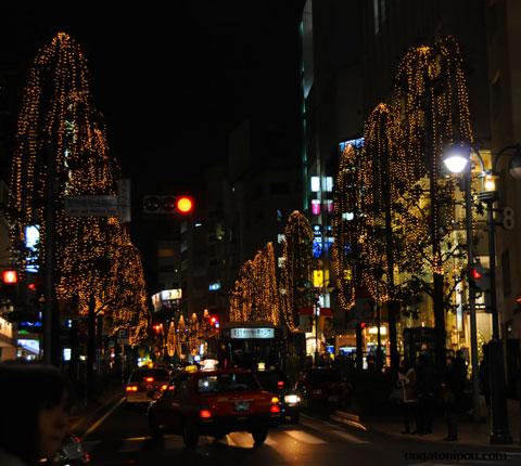 La iluminacin navidea de Tokio en UnGatoNipn