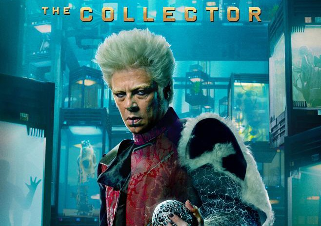 Benicio Del Toro reprises his role as the quirky and kooky the Collector.