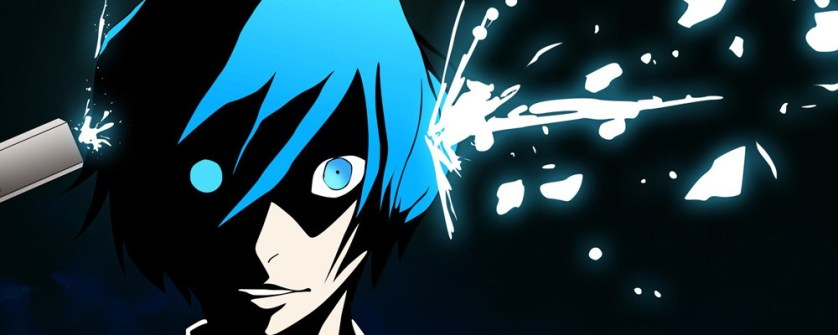 In Persona 3, to summon your Persona (or Alter-Ego) you shoot yourself in the head with these weapons called Evoker.