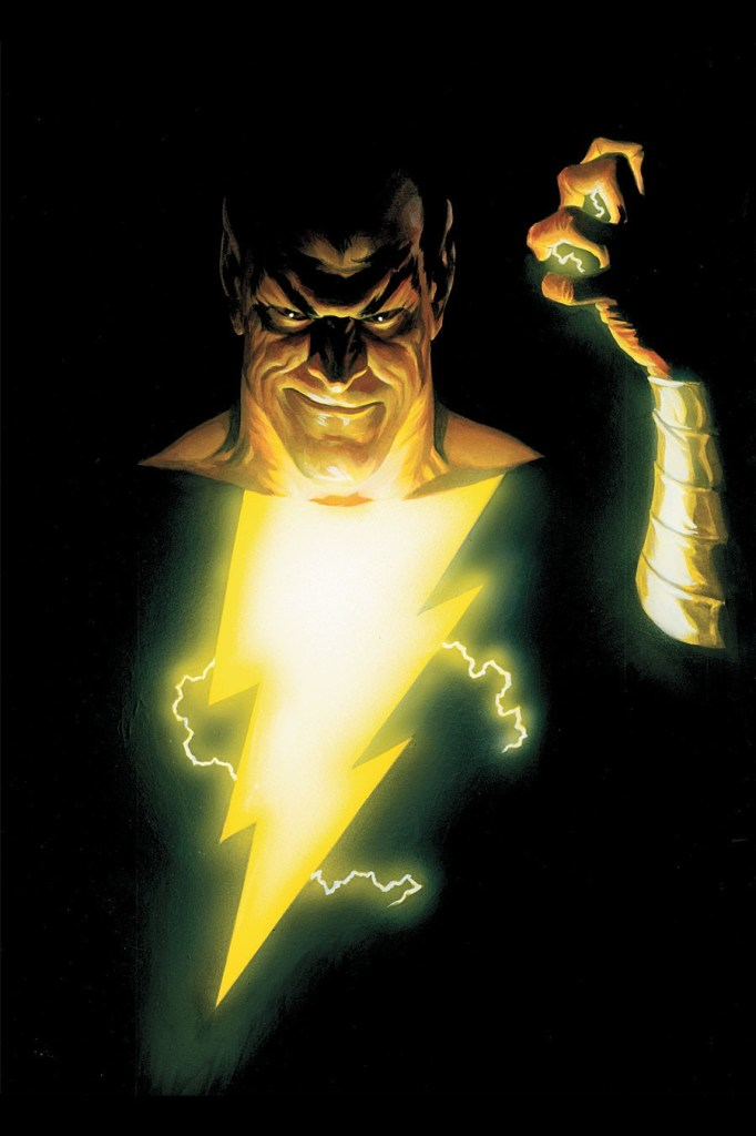 "Black Adam... Literally the ""Black Sheep"" of the Shazam family. Now, The Rock will play this power player of a character in the DC Cinematic Universe."