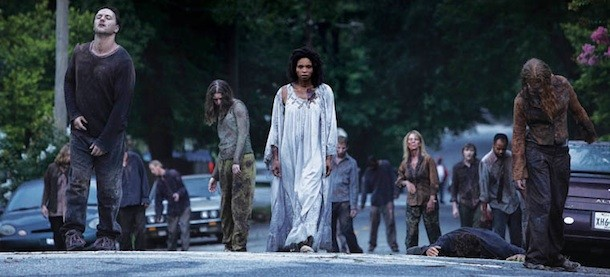 Walkers will always be the prevailing and constant threat for the world of The Walking Dead. Photo by AMC.