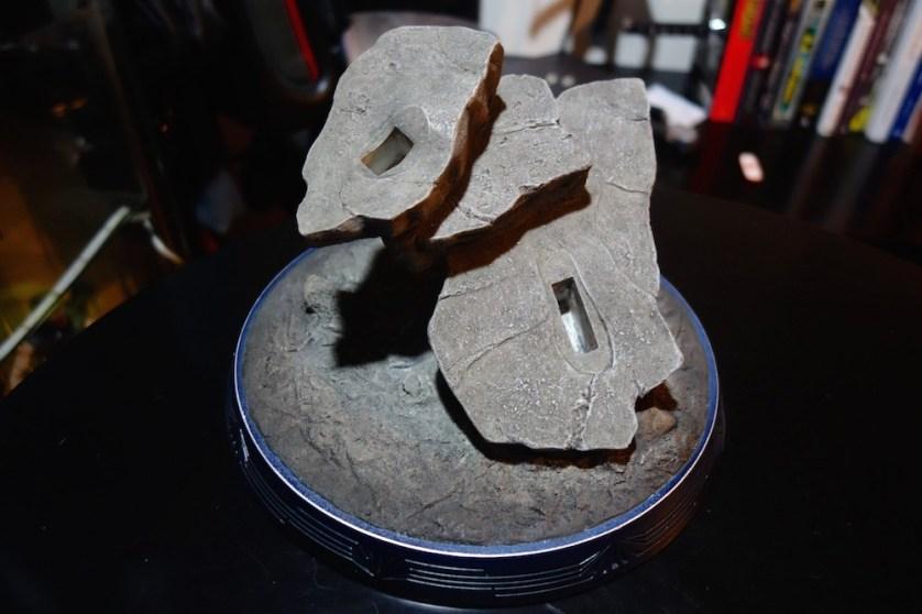 The rock base