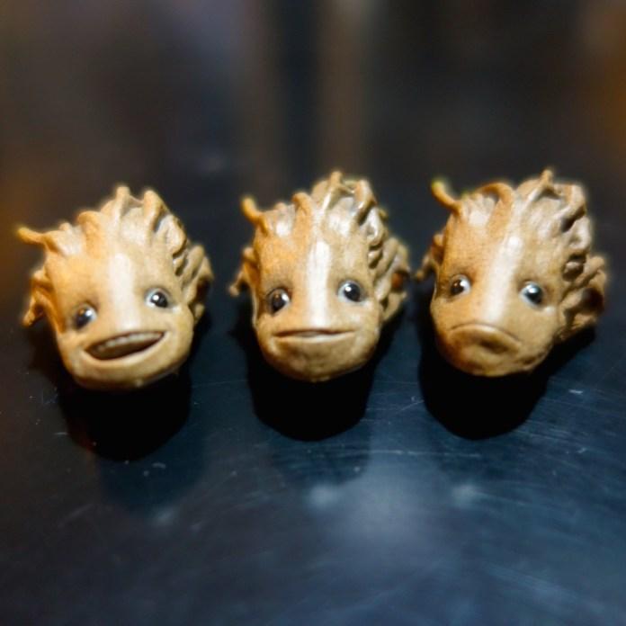 Different head sculpts