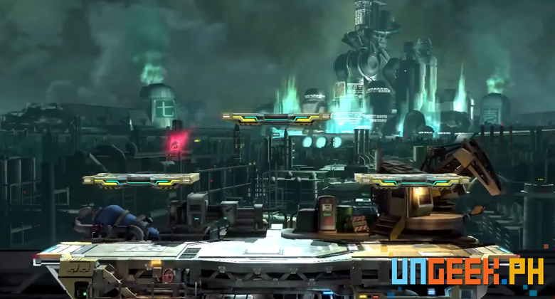 Super Smash New Stage Mako Reactor2