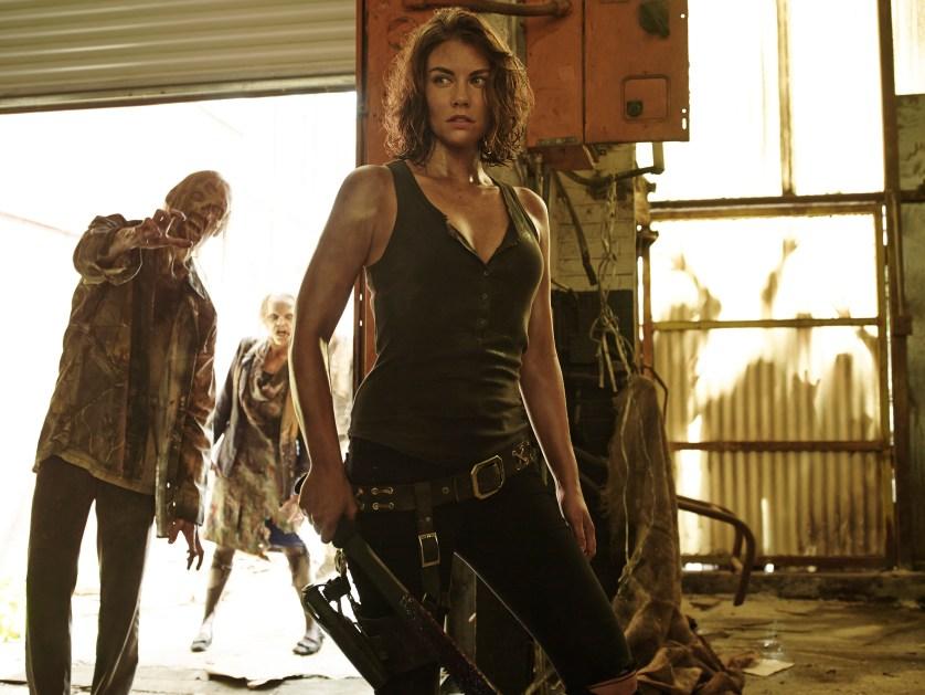 Lauren Cohan as Maggie Greene - The Walking Dead _ Season 5, Gallery - Photo Credit: Frank Ockenfels 3/AMC