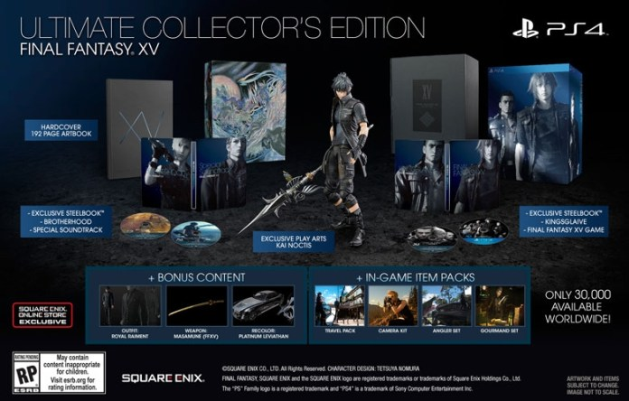 FF15 Ultimate Collector's Edition
