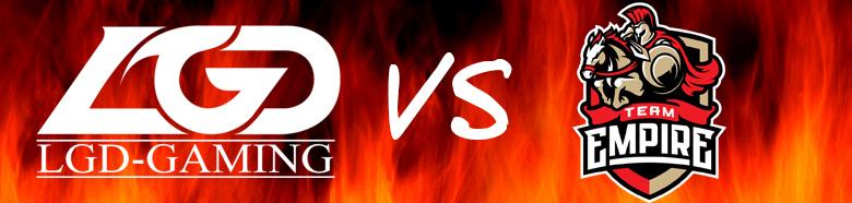 LGD Gaming vs Team Empire
