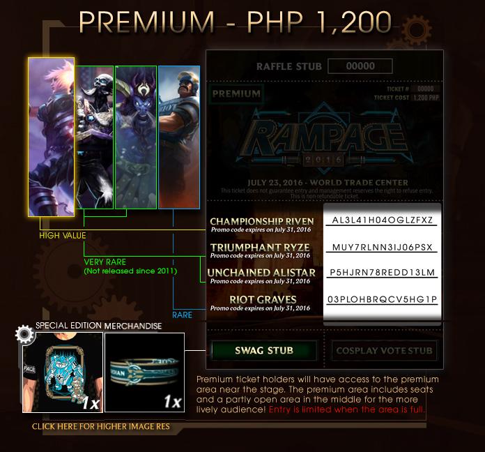 Ticketing Premium