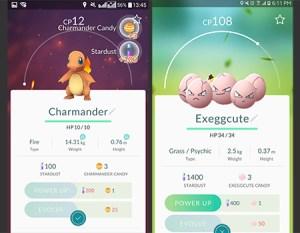 Charmander and Exeggcute