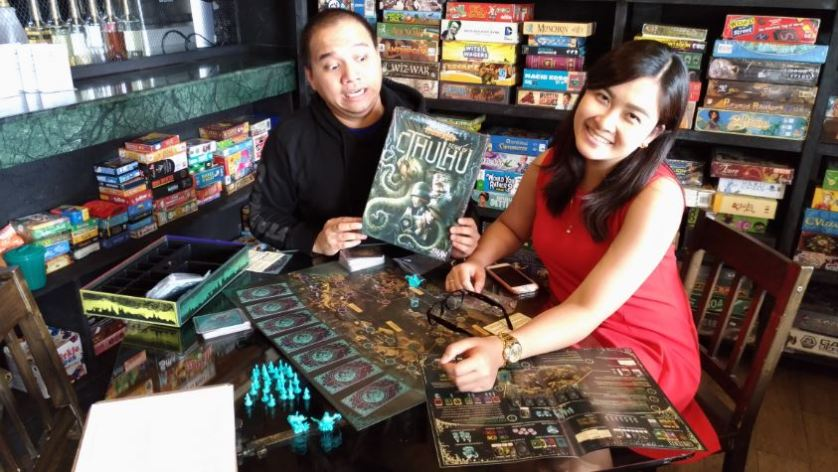PANDEMIC: REIGN OF CTHULHU - Pandemic with a Lovecraftian feel