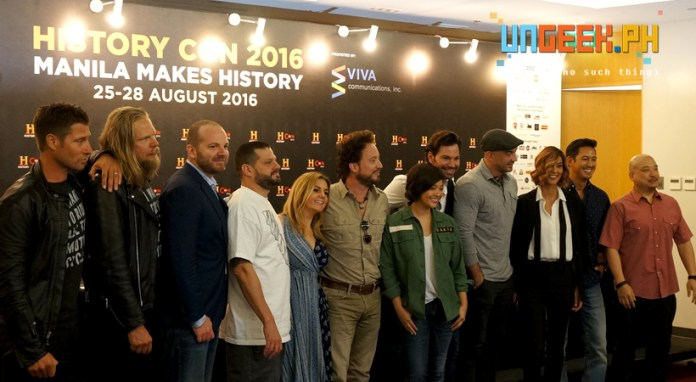 The stars are out and about at History Con 2016